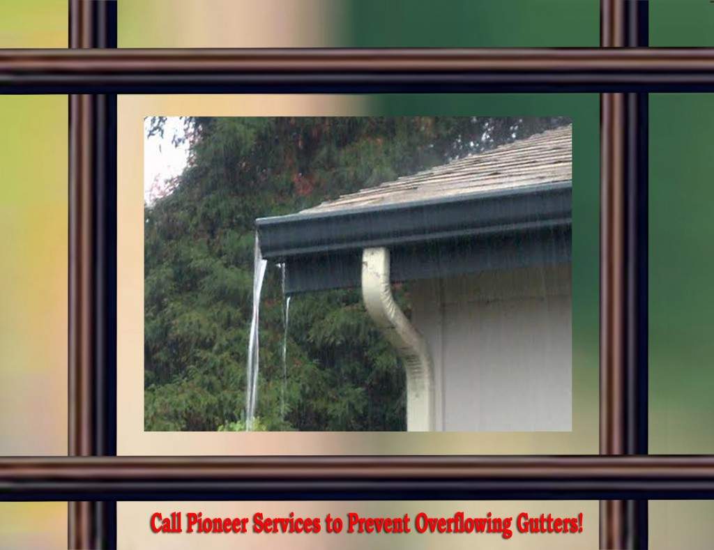 Overflowing Gutters? We Can Help!